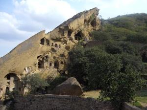 monastery carevd into sandstone